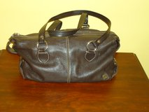 "brown leather ""the sak"" purse in Plainfield, Illinois"