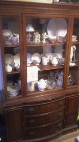 Antique China Hutch in Pearl Harbor, Hawaii