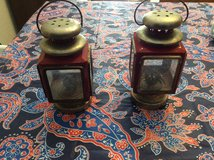 TWO METAL LANTERNS in Alamogordo, New Mexico