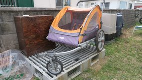 Double Bike Trailer & stroller in Okinawa, Japan