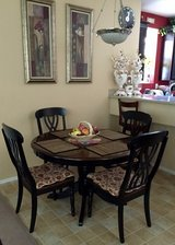 Dining table in Nellis AFB, Nevada