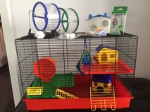 Big Hamster Cage with Accessories in Ramstein, Germany