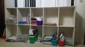 Daycare style shelves-white in Travis AFB, California