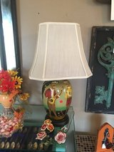2 hand painted lamps in Houston, Texas