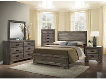 Wood Bedroom set $40.00 Down. Take Home Today!!! in Byron, Georgia