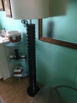 "Awsom floor lamp  49"" tall needs new shade in Cleveland, Texas"