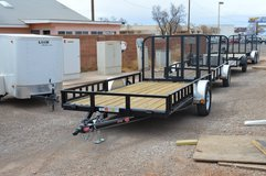 PJ 77' x 12' Utility Trailer with Side Load! in Las Cruces, New Mexico