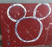 Hand Painted Disney Art (Mickey Mouse) in Fort Irwin, California