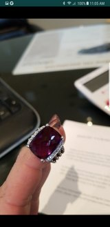 david yurman diamond amethyst ring 5.75 in Huntington Beach, California