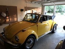 Vw super beetle convertible in The Woodlands, Texas
