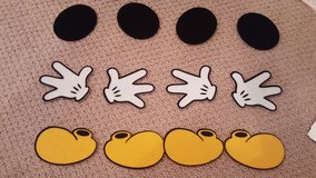 Mickey Felt Cut Out Pieces Party Decorations in Batavia, Illinois