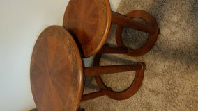 Nesting side tables in 29 Palms, California