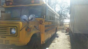 School Bus # 420 in Salina, Kansas