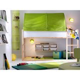 KURA  ikea kids bed with green canopy in Plainfield, Illinois