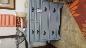 Blue chest in Fort Campbell, Kentucky