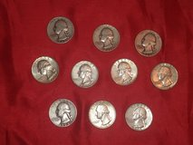 10 quarters - 90 percent silver in The Woodlands, Texas