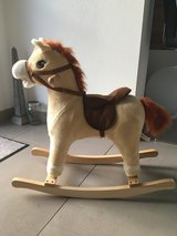 rocking horse in Ramstein, Germany