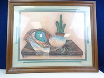 Southwestern Art Print in Wood Frame in League City, Texas