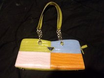 Prada Purse Multi-Color, with silver accents, great purse for Spring?Summer in Joliet, Illinois