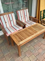 Wood Patio set in Ramstein, Germany