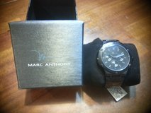 Marc Anthony Men's Stainless Steel Chronological Watch New with Tags in Fort Leonard Wood, Missouri