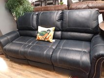 Navy Reclining Sofa in Fort Campbell, Kentucky