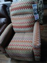 Chevron Power Recliner in Fort Campbell, Kentucky