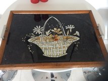 Vintage Decorative handled tray in Lakenheath, UK