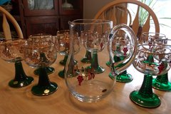 Vintage German Pitcher and Glasses in Alamogordo, New Mexico