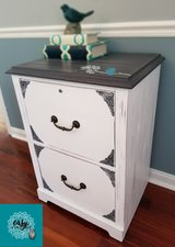 Vintage inspired file cabinet or side table in Naperville, Illinois
