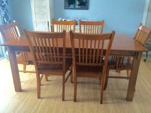 Six person kitchen table dining set in Naperville, Illinois