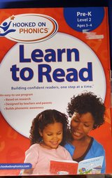 Hooked on phonics learn to read in Naperville, Illinois