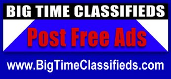Post Free Ads with VIDEO & LINKS Accepted at BIG TIME CLASSIFIEDS in MacDill AFB, FL