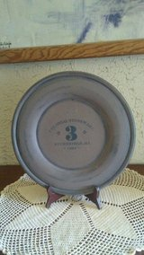 vintage colonial stoneware #3 plate 1864 in Yucca Valley, California