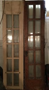 Antique hinged French doors late 1920's-early1930's in Peoria, Illinois