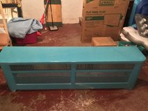 Antique custom made radiator cover late 1920's-early1930's in Peoria, Illinois