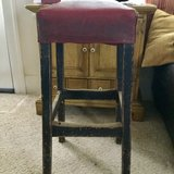 Vintage industrial stool in Peoria, Illinois