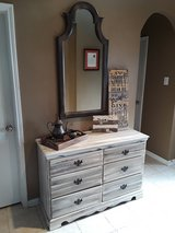 Rustic Dresser and Mirror in Baytown, Texas