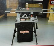 Craftsman 10 inch portable table saw in Okinawa, Japan