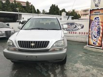 FRESH 1999 Toyota Harrier V6 - Hitch - Bluetooth Hookup - Clean - Well Maintained - Compare & $ave! in Okinawa, Japan