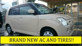 2007 NISSAN PINO YELLOW PLATE **BRAND NEW AC&TIRES!!** WITH NEW JCI AND 1 YR WARRANTY!! in Okinawa, Japan