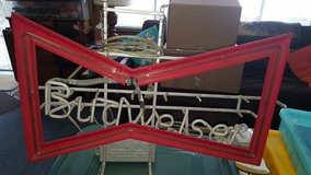VINTAGE BUDWEISER BEER BREWERIANA BOW TIE ELECTRIC NEON SIGN in Los Angeles, California