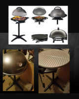 George Forman indoor/outdoor grill in Lawton, Oklahoma