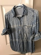 Women's Maurice's Denim shirt M in Plainfield, Illinois