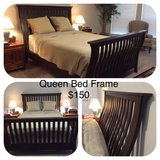 Queen Sleigh Bed in San Antonio, Texas