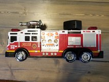 Fire truck toy in Cherry Point, North Carolina