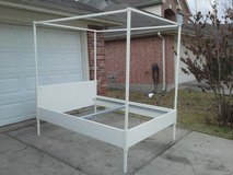 Queen IKEA, 4Post Bed/ w Canopy in The Woodlands, Texas