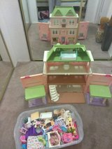 used doll house,furniture and accessories in Camp Pendleton, California