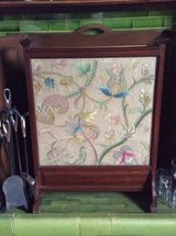 Antique Hand Embroidered Fire Screen in Lakenheath, UK
