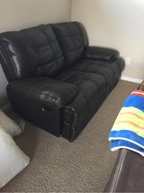 Leather loveseat in Baytown, Texas